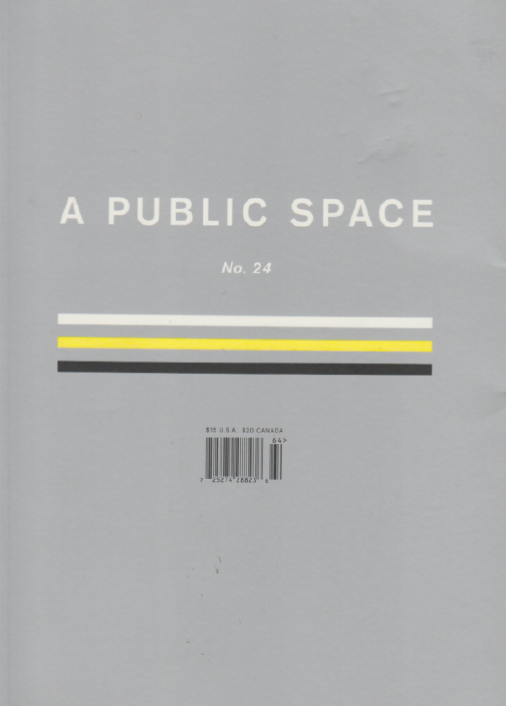 A Public Space Issue 24